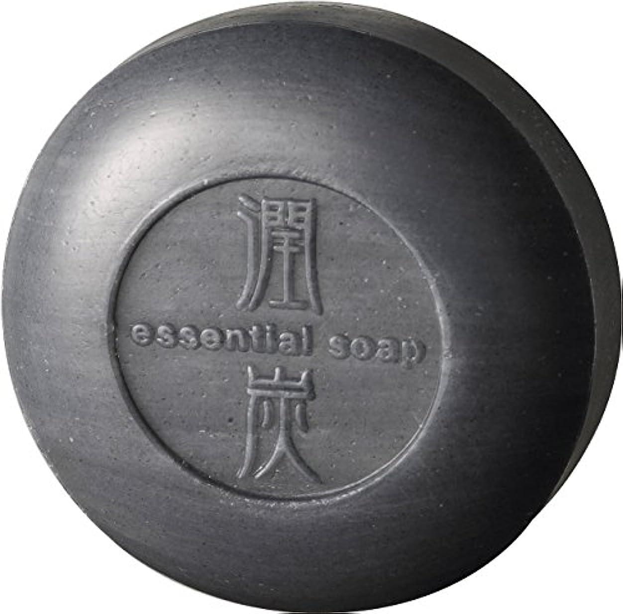 運ぶ無心完璧なアクアライフ 潤炭シャンプー石鹸 [100g]