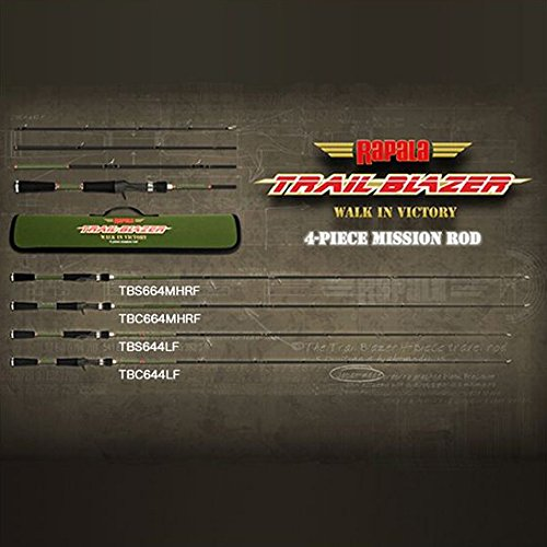 Rapala(ラパラ) トレイルブレイザー 4ピース TBS-644LF