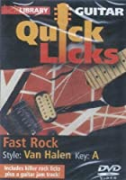 Guitar Quick Licks-Van Halen Style Fast Rock Key O [DVD] [Import]