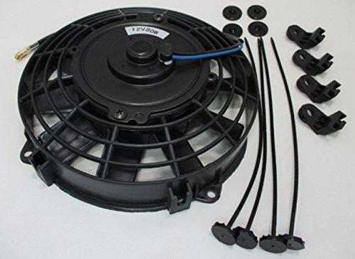 汎用 薄型 電動 ファン 8インチ プル タイプ 12V 車 カー 用品 自動車 用