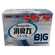 エステー 車用 消臭芳香剤 クルマの消臭力 BIG 置き型 ウォータリースカッシュ 900g K-95