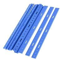 10個青いプラスチック飛行機DIYモデル開発バー