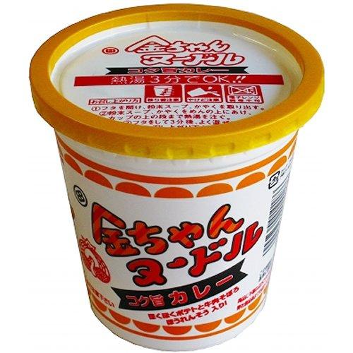 徳島製粉 金ちゃんヌードルコク旨カレー 77g×12個