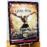 ゴッド?オブ?ウォー 店頭用B2ポスター未使用ゲームポスター PS3 God of War Ascension