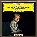 ベートーヴェン:ピアノソナタ第30番第三楽章 変奏曲(pf:エミール・ギレリス)