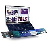 "CUK ASUS ZenBook Pro 15 UX580GE Touchscreen Business Ultrabook Laptop with Screenpad (Intel i9-8950HK, NVIDIA GeForce GTX 1050 Ti, 16GB RAM, 1TB NVMe SSD, 15.6"" UHD 4K Touch, Windows 10 Professional)"