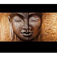 Buddha PaintingキャンバスアートプリントFineアートプリントキャンバス抽象絵画のBuddha壁アート