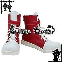 ●●サイズ選択可●●女性22.5CM MJR1257 コスプレ靴 ブーツ ラブライブ! Love Live! アニメ練習着 矢澤にこ やざわにこ