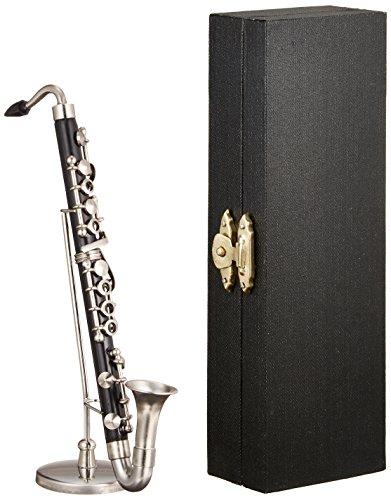 [해외]SUNRISE SOUND HOUSE 선 라이즈 사운드 하우스 미니어처 악기베이스 클라리넷 1 6/SUNRISE SOUND HOUSE Sunrise Soundhouse Miniature Instrument Bass Clarinet 1 6