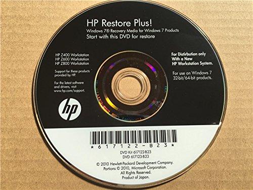 【リカバリディスクセット】HP workstation Z400・Z600・Z800用 Windows7 Professional 32bit&64bit
