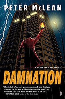Damnation (The Burned Man Book 3) by [McLean, Peter]