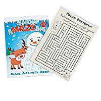 12 ~ Snow aMazeing Maze Activity Books ~ 5 x 7 12 Pages ~ New [並行輸入品]