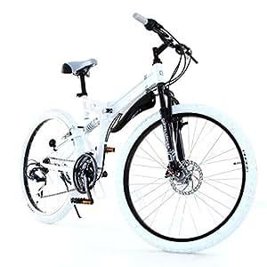 DOPPELGANGER 26インチ フォルダブルオフロードバイク 独自開発アイビーム・フレーム採用モデル X-ROUNDシリーズ ROAD BLOCK 713