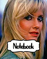 """Notebook: Olivia Newton-John English-Australian Singer, Songwriter Single You're the One That I Want Greatest Hit, Large Notebook for Drawing, Doodling or Writting: 110 Pages, 7.5"""" x 9.25"""". Kraft Cover Notebook ( Blank Paper Drawing and Write Notebooks )"""