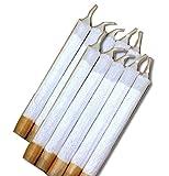 森製紐 オリジナル 10本セット ちょっとやそっとの風では消えにくい 布巻きローソク 意匠登録済
