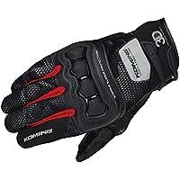 コミネ(KOMINE) GK-215 プロテクト3Dメッシュグローブ 3D Black Camo/Red(L) Protect 3D M-Gloves 06-215