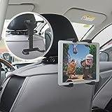 車載 iPad タブレット ホルダー 後部座席ヘッドレスト設置 DVD スタンド【10cm-19.4cmまで取付け可能】