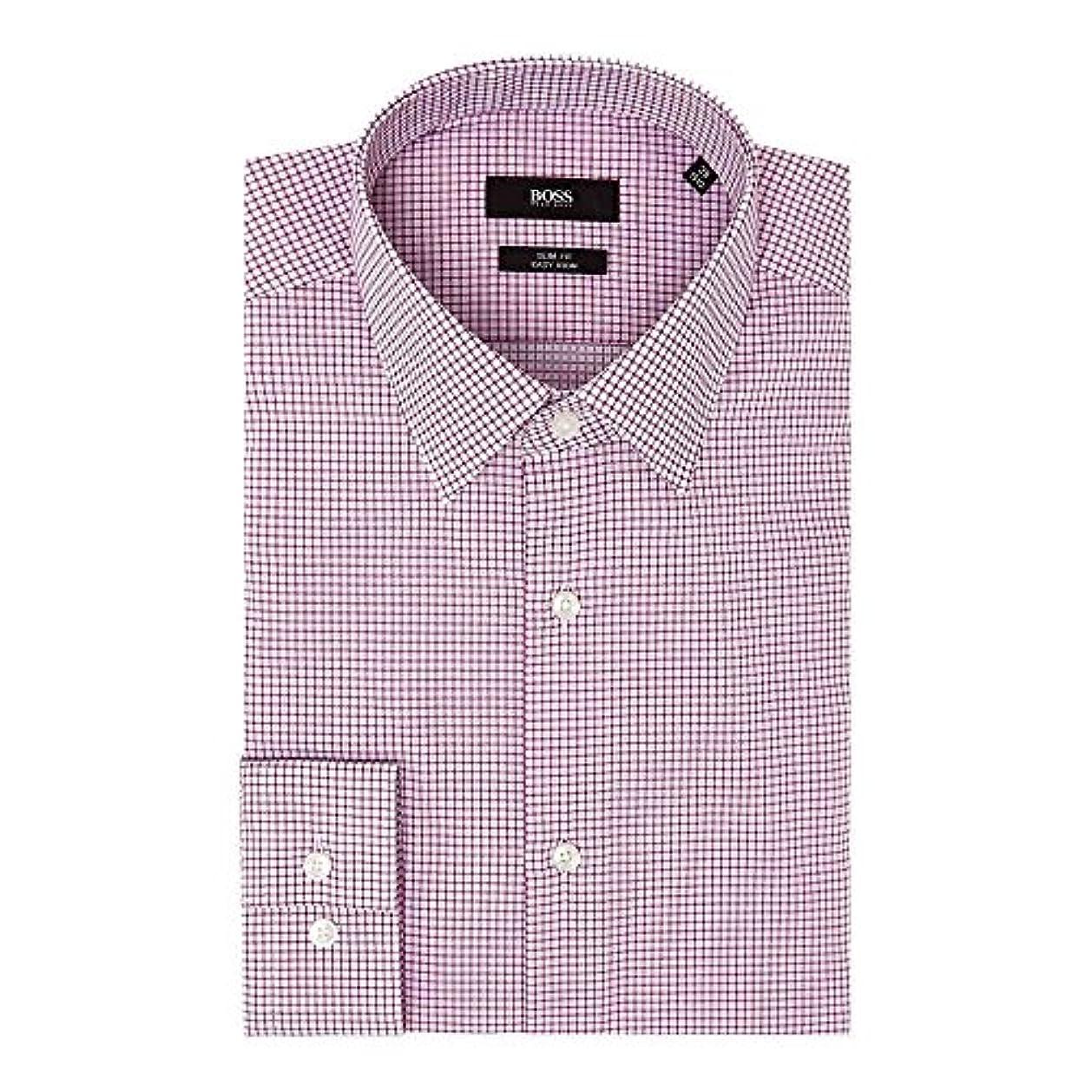 失速涙が出る安西(ヒューゴ ボス) Hugo Boss メンズ トップス シャツ Isko Slim Micro Grid Check Shirt [並行輸入品]