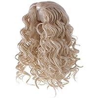 Dovewill 人形用  ウィッグ  巻き髪  かつら  超可愛い  ドール 修理用  装飾