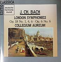 J. C. Bach: 4 London Symphonies