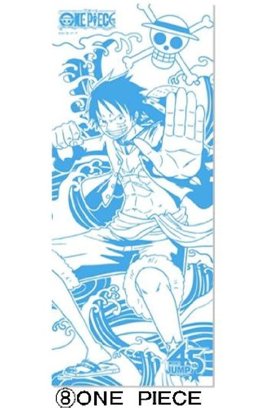 スリム薬用会計週刊少年ジャンプ45周年記念J-STARS ミニ手ぬぐい付き入浴剤(ワンピース)