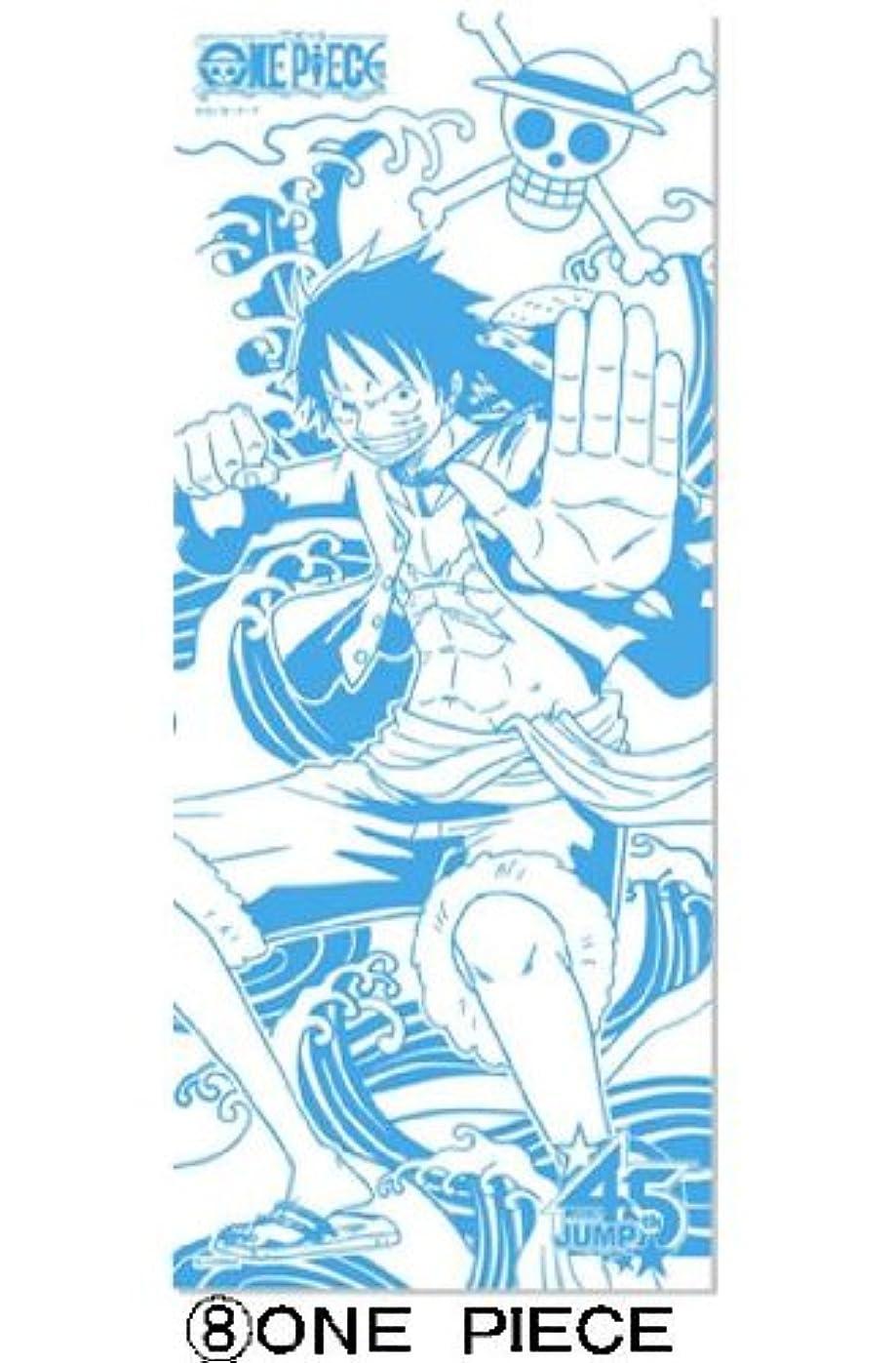 泥宣教師前売週刊少年ジャンプ45周年記念J-STARS ミニ手ぬぐい付き入浴剤(ワンピース)