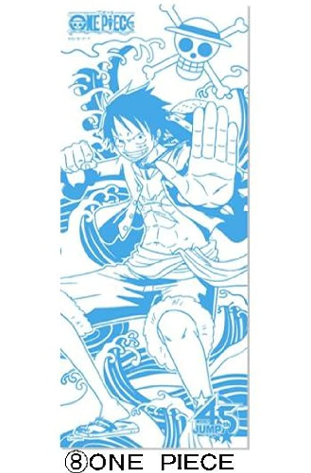 ハプニング議論するクロニクル週刊少年ジャンプ45周年記念J-STARS ミニ手ぬぐい付き入浴剤(ワンピース)