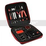 PBag&レーザーケース(ペン型)無料プレゼント! 進化版!電子タバコ 電子リキッド Coil master DIY kit V3  コイルマスター vape DIY工具 V3  リビルダブルキット コイラー オームメーター
