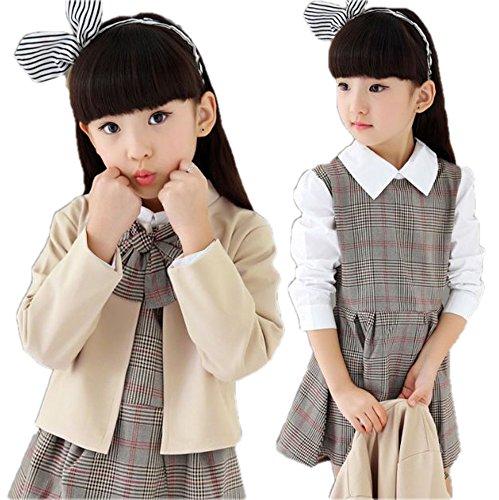 monoii 子供 スーツ 入学式 卒業式 フォーマル ワンピース 韓国 子供服 女の子 674