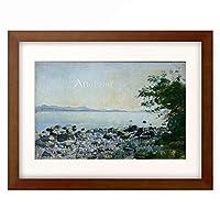 フェルディナント・ホドラー Ferdinand Hodler 「Lake Geneva seen from Lutry」 額装アート作品