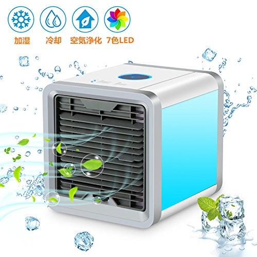 SENDOW 冷風機 小型 クーラー 空気浄化・加湿・冷却機能 USB扇風機...