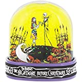 Disney Snowglobe Sally Jack Skellington Nightmare Beforeクリスマス新しい