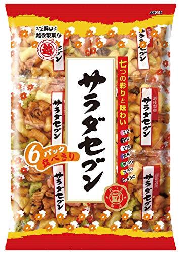 越後製菓 サラダセブン6P 135g×12袋