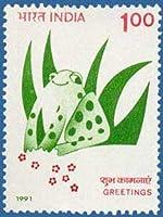 Greetings Greetings, Frog Indian Stamp