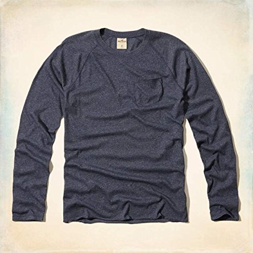 (ホリスター) Hollister Co. 【Sサイズ 】 クルーネックTシャツFallbrook 【navy/ネイビー】 並行輸入品
