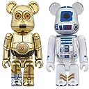 ベアブリック スターウォーズ 2パック C-3PO (TM) R2-D2 (TM) 全高約70mm 塗装済み完成品フィギュア