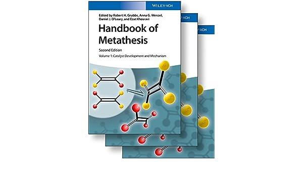 Handbook of Metathesis 3 Volume Set