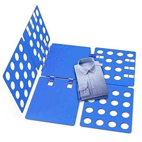 Fypo 洋服 折りたたみ クイックプレス Lサイズ 素早く 簡単 収納力アップ セーター シャツ タオル 整理整頓 子供も手伝う
