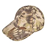 (ガン フリーク) GUN FREAK タクティカル ベースボール キャップ 帽子 ハニカム迷彩 ミリタリー サバゲー (ハイランダー カーキ)