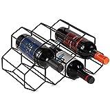 Best ワインラック - Lesige 金属製 ワインボトルホルダー ワインスタンド 積み重ね式 ワイン棚 9本用 ワインラック Review