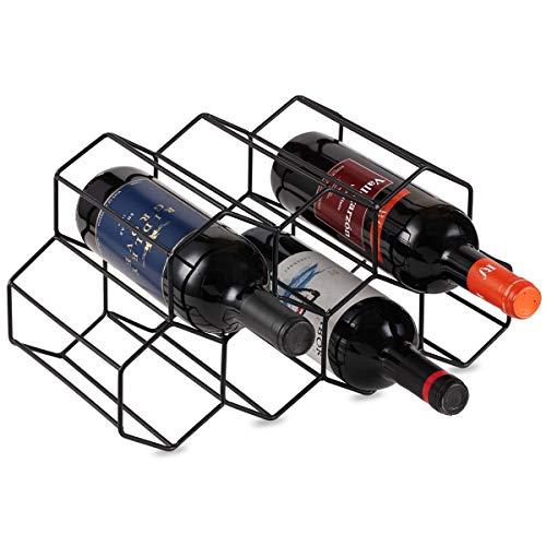 Lesige 金属製 ワインボトルホルダー