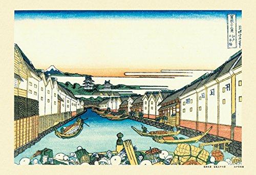 Amazon.co.jp通販サイト(アマゾンで買える「300ピース ジグソーパズル 富嶽三十六景 江戸日本橋(26x38cm」の画像です。価格は1,916円になります。