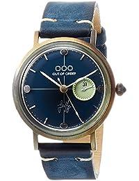 [アウトオブオーダー]Out Of Order 腕時計 FIREFLY 36mm イタリア製 001-7.BL 【正規輸入品】