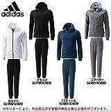 adidas(アディダス) ID スウェット フルジップ パーカー パンツ 上下セット 【メンズ】 (BVA02/BVA05) (L, Tスティール(AZ4801/AZ4829))