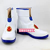 「COSCOOL」魔法少女リリカルなのは 高町なのは 風 cosplay コスプレ靴 ブーツ