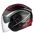 オージーケーカブト(OGK KABUTO)バイクヘルメット ジェット ASAGI CLEGANT (クレガント) フラットブラック (サイズ:XXL)