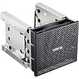 LIANLI  フロントべゼル付き内蔵用HDDラックマウントキット ブラック 5インチベイ3段3.5インチHDD4台&2.5インチHDD2台 EX-36B1