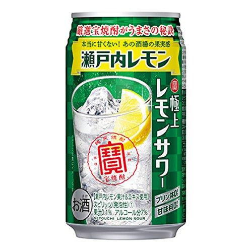 宝 極上レモンサワー 瀬戸内レモン 350ml缶 350ML × 24缶