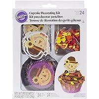 Wilton Cupcake Decorating Kit Scarecrow, Pack of 24 [並行輸入品]