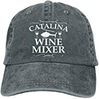 AUCAMP Catalina Wine Mixer Unisex Trucker Hats Dad Baseball Hats Driver Cap